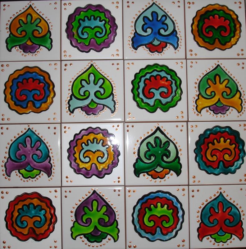 Узоры татарской вышивки