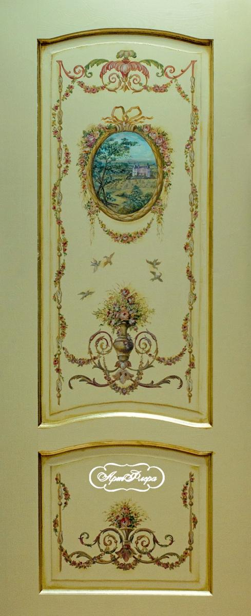 фото роспись дверей