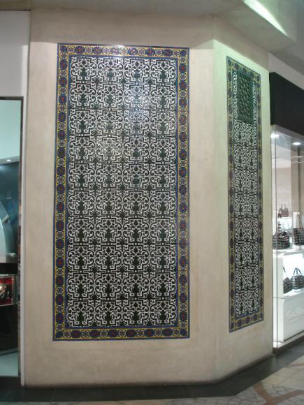 роспись плитки дубаи