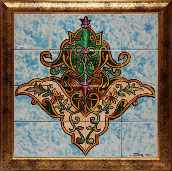 Башкиры издавна многообразным, ярким и красочным орнаментом украшали упряжь коня, хозяйственную утварь, одежду, обувь