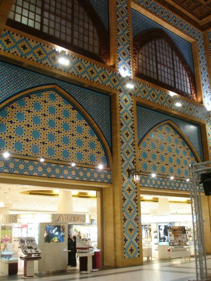 торговый центр дубай роспись