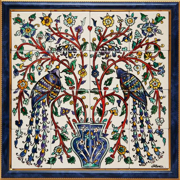 исламские мотивы в росписи плитки