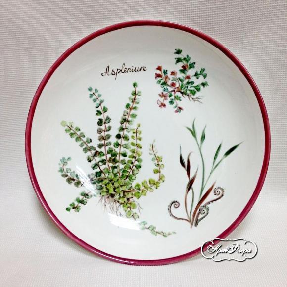 "Тарелка суповая ""Асплениум"", 25 см"