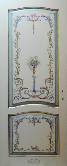 Художественная роспись дверей своими руками