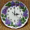 """Часы """" Сирень лиловая"""" , 28 см"""