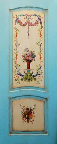 ручная роспись дверей