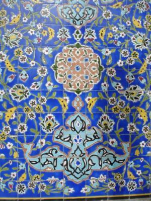 роспись мечети в дубае