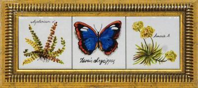 панно с бабочкой
