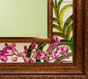 зеркало роспись фрагмент