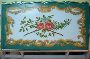 роспись интерьера, роспись стен, роспись мебели